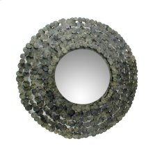 Moon Shadow Mirror Round Antique