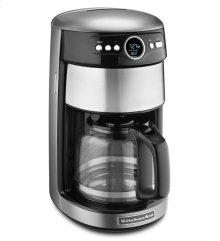 KitchenAid® 14 Cup Glass Carafe Coffee Maker - Contour Silver