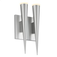 Micro Cone LED Double Sconce