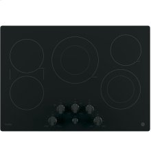 """GE Profile Series 30"""" Built-In Knob Control Electric Cooktop"""