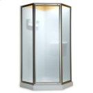 Neo Angle Shower Doors - Brushed Nickel Product Image