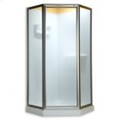 Neo Angle Shower Doors - Gold Product Image