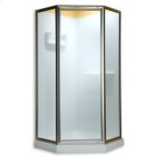 Neo Angle Shower Doors - Gold