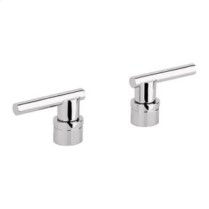Polished Nickel Infinity Finish Lever Handle Product Image