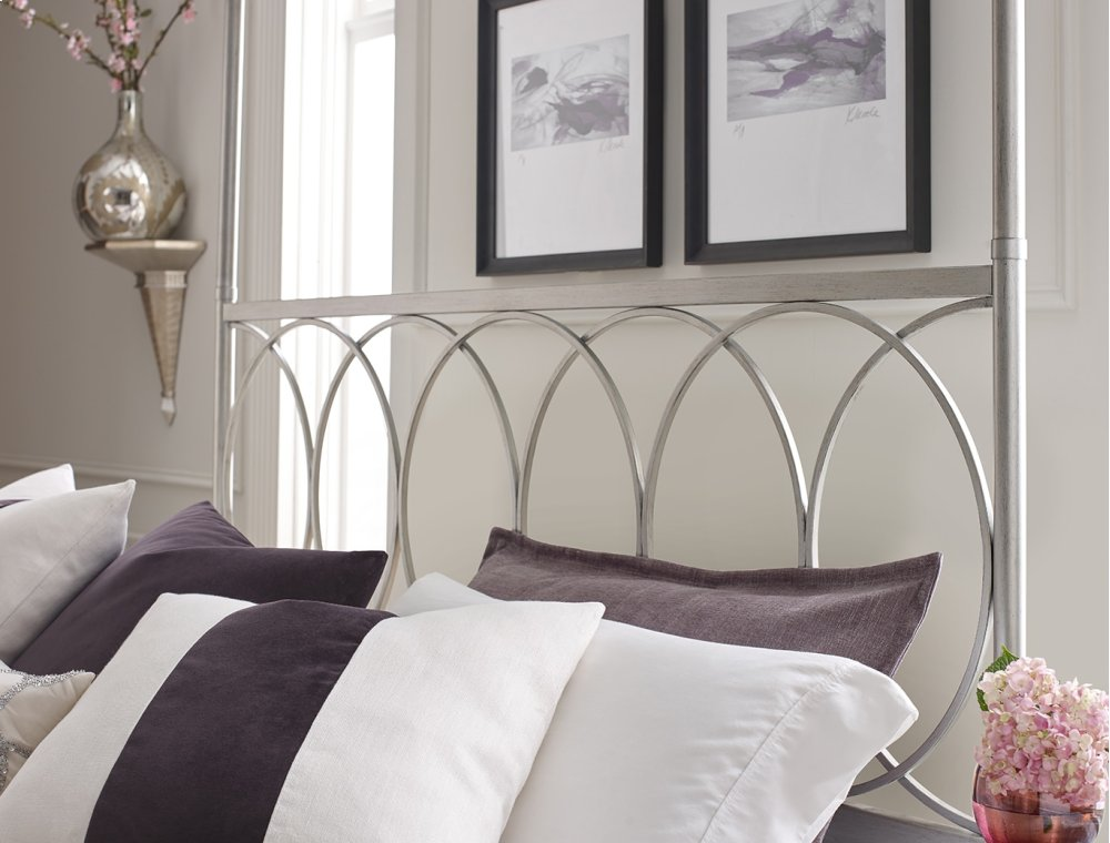 Metal Canopy Bed King 6/6 & 72005006K in by Rachael Ray Home Collection in Newnan GA - Metal ...