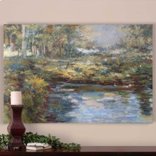 Lake James Hand Painted Canvas