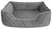 Comfy Pooch Damask Flocked Pet Bed HD83-451