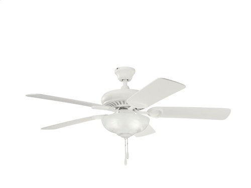 "Sutter Place Select 52"" Fan Satin Natural White"