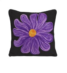 Purple Bloom Pillow