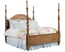 Bench Camelback Poster Queen Bed