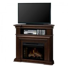 Montgomery Media Console Electric Fireplace