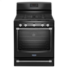 Black Maytag® Gas Freestanding Range with Convection Oven - 5.8 cu. ft.