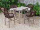 Renava Fiji Outdoor Beige Bar Table Set Product Image