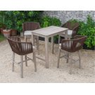 Renava Fiji Outdoor Beige Bar Table Set Product Image
