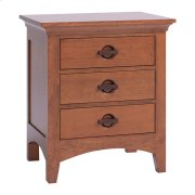 Great Lakes 3-Drawer Nightstand Product Image
