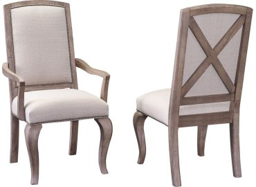 Flushing Avenue Tapestry Arm Chair
