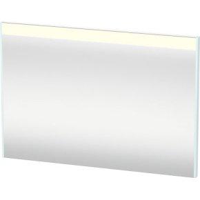 Mirror With Lighting, Light Blue Matt Decor