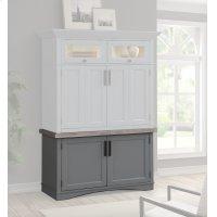 Americana Modern Dove Workstation Base Product Image