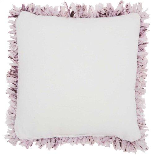 """Shag Dl860 Lavender 17"""" X 17"""" Throw Pillows"""