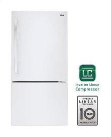 24 cu. ft. Large Capacity Swing Door Bottom Freezer Refrigerator