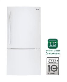 24 cu. ft. Large Capacity Swing Door Bottom Freezer Refrigerator