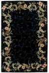 Julian Jl46 Blk Rectangle Rug 5'3'' X 8'3''