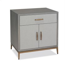 Corinna Bedside Chest - Grey