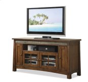 Craftsman Home 62-Inch TV Console Americana Oak finish