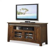 Craftsman Home 62-Inch TV Console Americana Oak finish