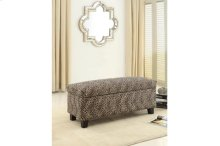 Lift-Top Storage Bench, Leopard