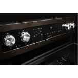 Kitchenaid 30-Inch 5-Element Electric Convection Range - Black Stainless