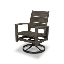Bronzewood Select Signature Swivel Rocking Chair Dining Chair