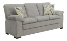 Sofa W/2 Accent Pillows- Gray #fog Scala Dtc1422-29
