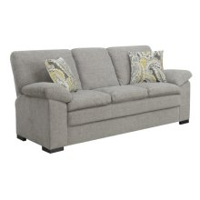 Sofa W/2 Accent Pillows- Gray #fog Scala Dtc1422-29