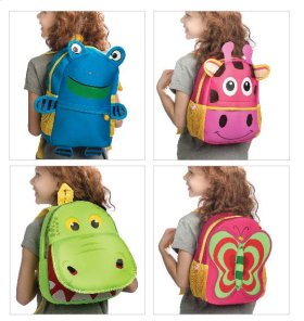4 pc. ppk. Kids Backpack