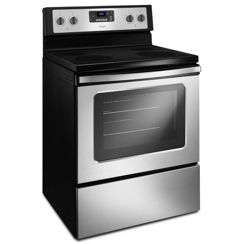 5.3 Cu. Ft. Freestanding Electric Range with Easy Wipe Ceramic Glass Cooktop