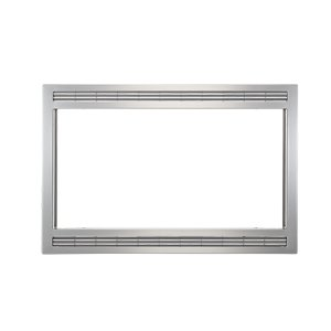 Grey/Stainless 27'' Microwave Trim Kit -