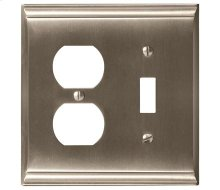Candler 1 Toggle, 1 Receptacle Wall Plate