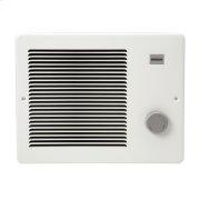 Wall Heater, White, 500/1000W 120VAC, 750W 208VAC, 1000W 240 VAC. Product Image
