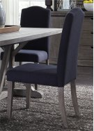 Uph Side Chair - Charcoal (RTA) Product Image