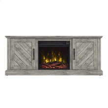Belcrest TV Stand with Electric Fireplace
