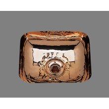 B1112 - Bar Sink Plain Pattern - Antique Brass