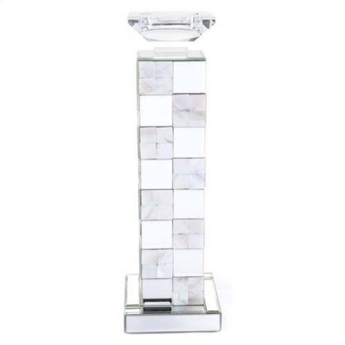 Squares Candle Holder Lg Mirror And Mop