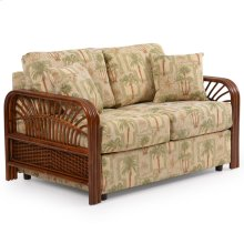 Loose Back Loveseat Pecan Glaze 983L
