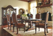 North Shore - Dark Brown 8 Piece Dining Room Set
