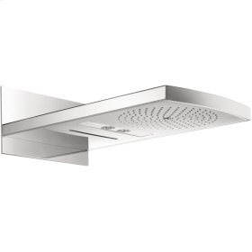 Chrome Raindance Rainfall AIR 240 3-Jet Showerhead Trim, 2.5 GPM