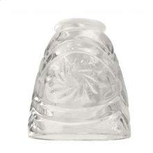 """2 1/4"""" Fan Glass, Cone Shaped"""