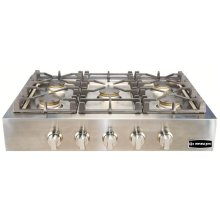 "Stainless Steel 36"" Gas Range Top"