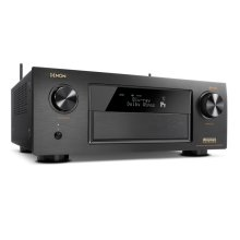 9.2 Channel Full 4K Ultra HD AV Receiver with built-in HEOS wireless technology, Dolby Atmos, DTS:X, unparalleled music playback options, thanks to our built-in HEOS technology, Apple AirPlay 2, and Amazon Alexa voice compatibility for seamless control.