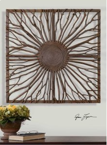 Josiah Wood Wall Decor